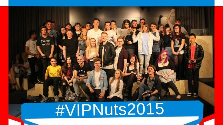 Youtubers Manchester. Throwback to #VIPNuts2015. Such an amazing   evening with so many inspiring and creative people. If you don't know what it is all about visit our twitter to see the video!