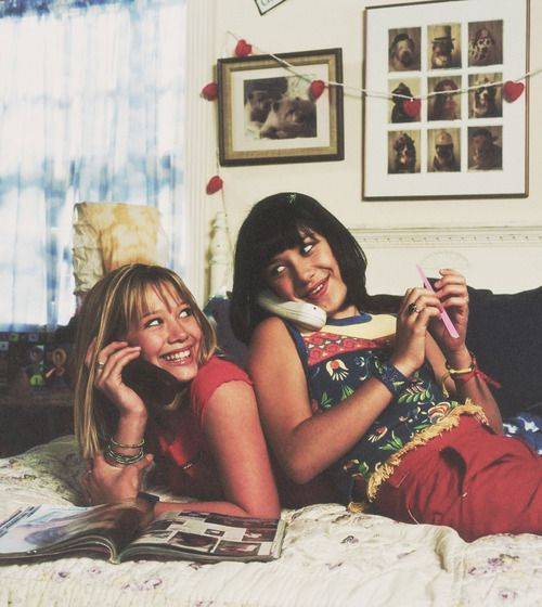 #LizzieMaGuire and #MirandaSanchez these were the peeps I looked up to while growing up