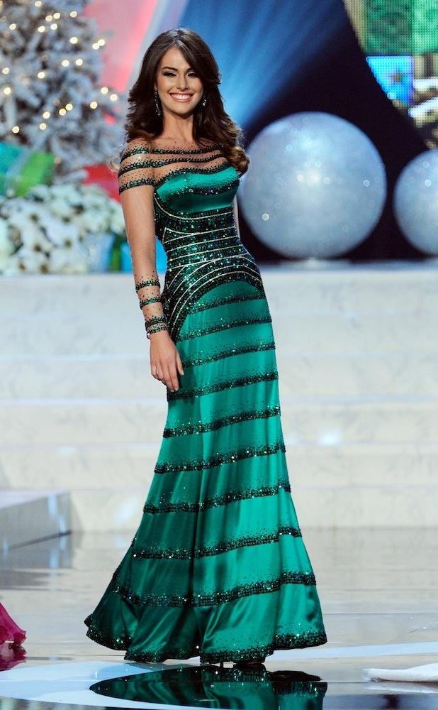Miss Venezuela Miss Universe 2012 gown