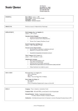 the free professional cv on a4 paper is a two page resume template that - Free Professional Resume Template Download