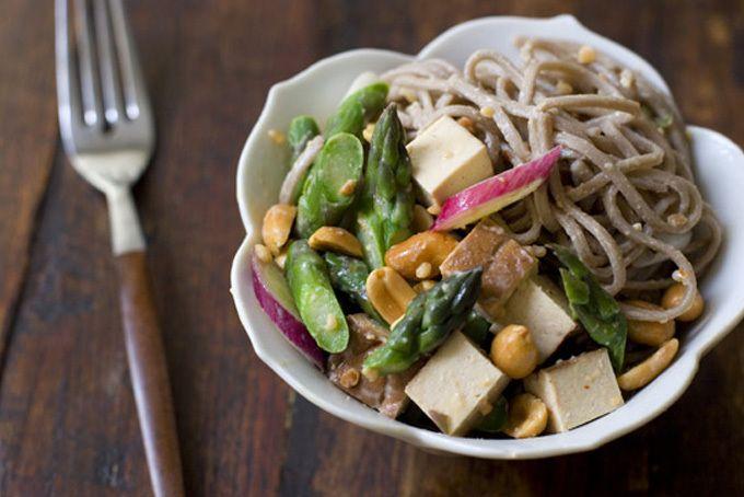 Lazy Day Peanut Noodle Salad