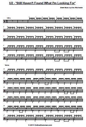 Drum drum tabs white stripes : 1000+ images about sheet music on Pinterest