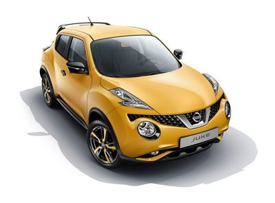 Nissan Juke (2014) redesign.  Hate the color.  Love the redesign