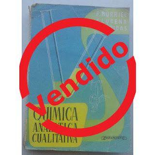 Paraíso del Libro Usado: Química Analítica Cualitativa, Burriel, Lucena, Ar...