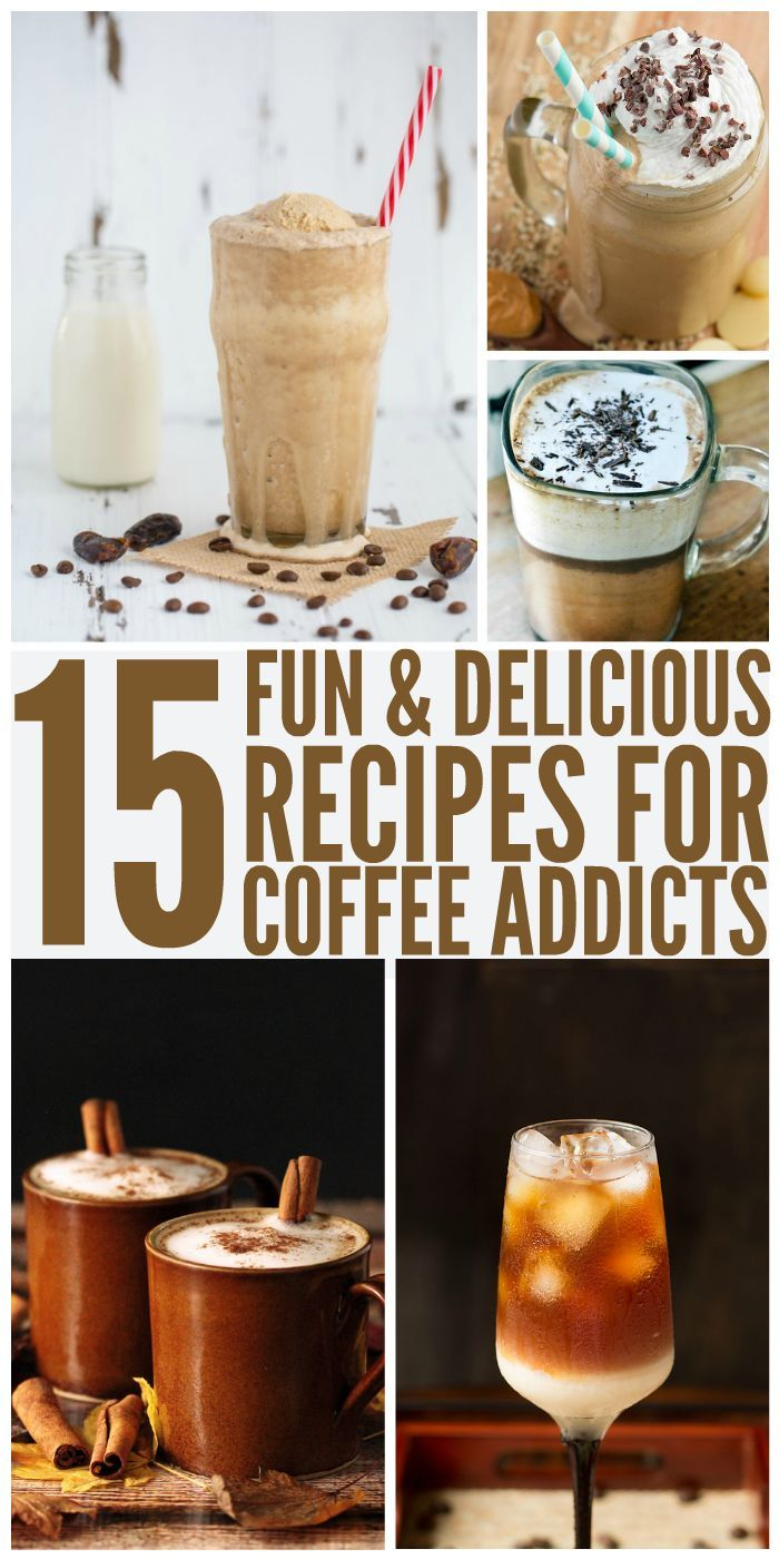 Fun and Delicious Recipes for Coffee Addicts