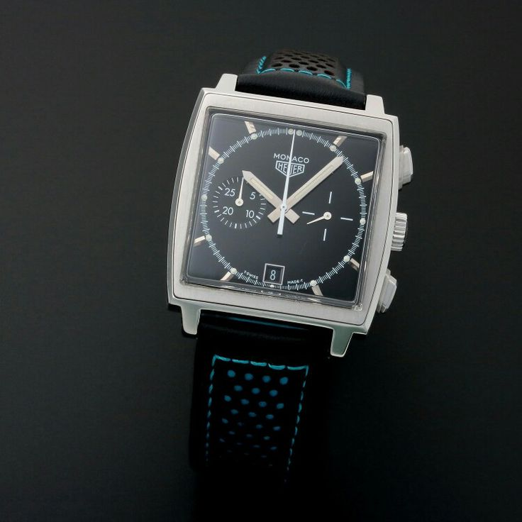 TAG HEUER MONACO AUTOMATIC // LIMITED EDITION // 11740 // TM1147 // PRE-OWNED