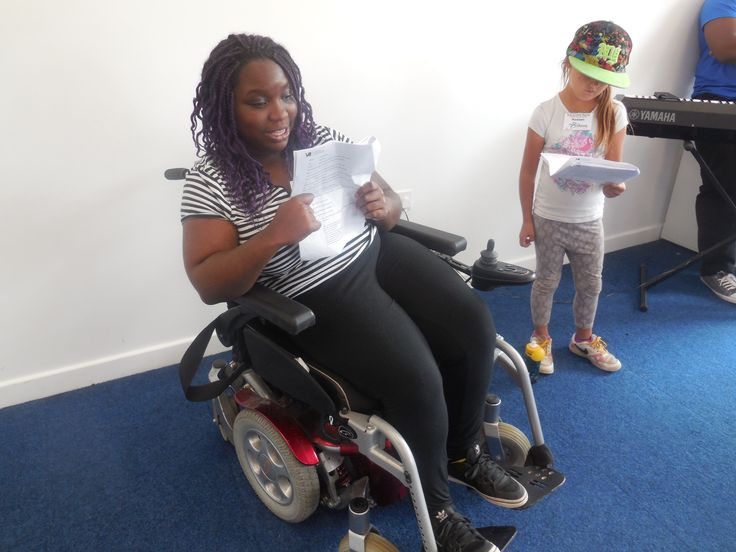 Participants do a read through of the script Kick It – Youth Musical