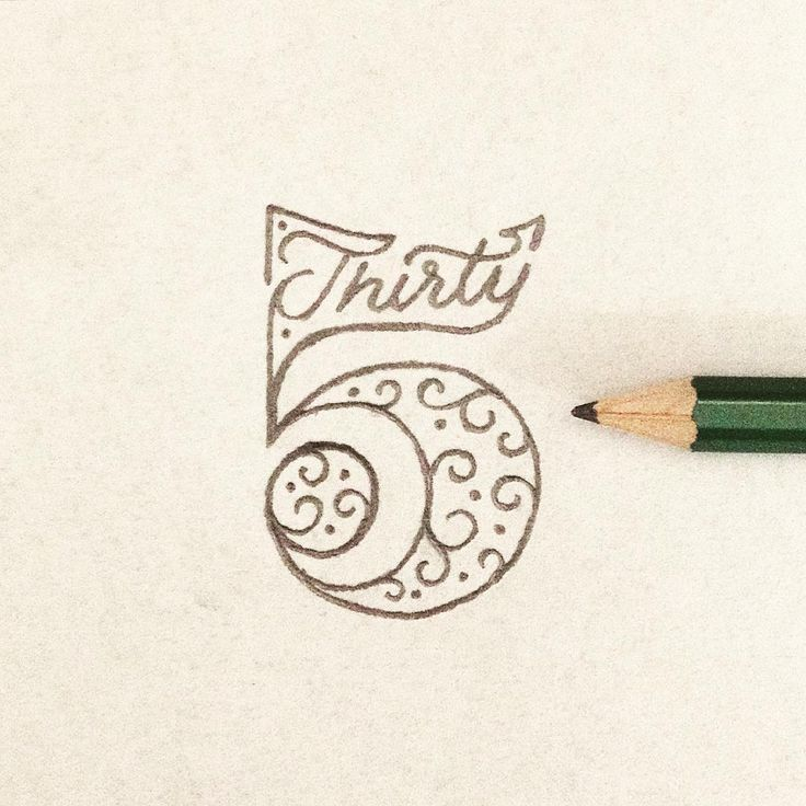 Best 25 Number Typography Ideas On Pinterest Number