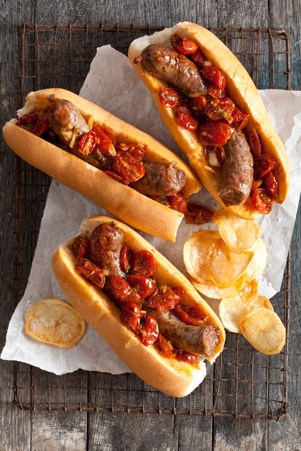Boerewors rolls with a twist. These sausages are better than any other. I love them!