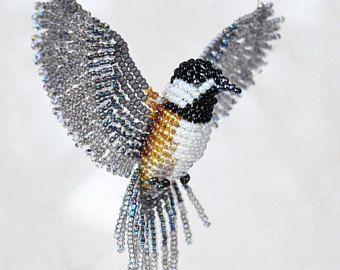 Blue Jay Suncatcher decoración de la ventana Blue Jay