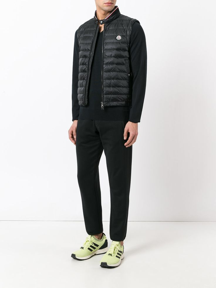 #moncler #men #new #black #vest #gillet #sporty #style  www.jofre.eu