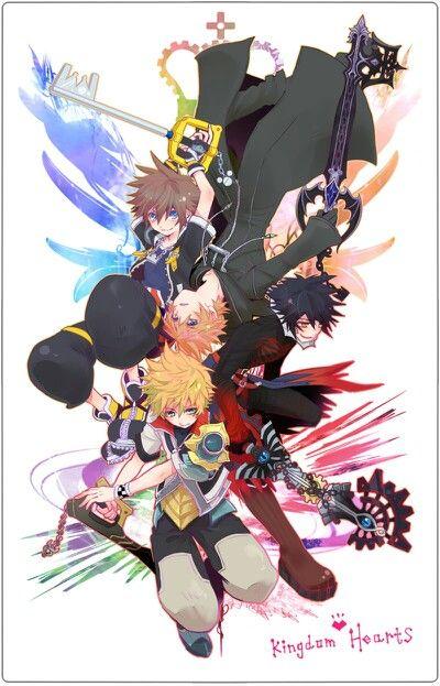 Sora, Ventus, Roxas, Vanitas... | ~Kingdom Hearts ...
