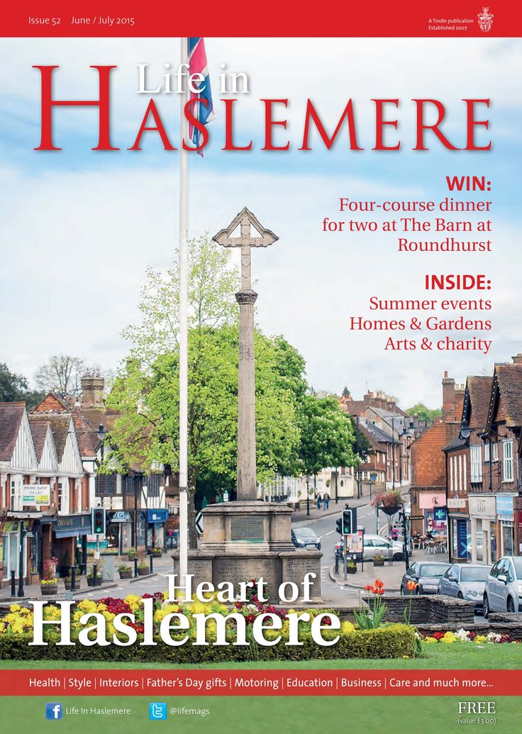 ~ Heart of Haslemere ~ By @kjphotograph  Life in #Haslemere June-July 2015  #locallife #community #lifestyle #magazine