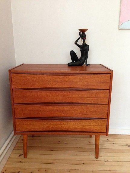 Retro Teak 50 Talls Kommode Lenestoler Salong Bord Mm Finn