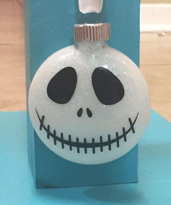 The 193 best nightmare before christmas images on pinterest the this listing is for this complete set of 4 ornaments each set includes jack solutioingenieria Choice Image