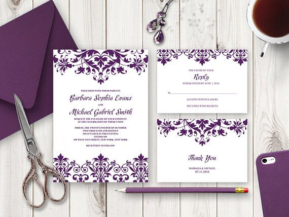 8 best Wedding Invitation Templates  - best of sample invitation letter debut party