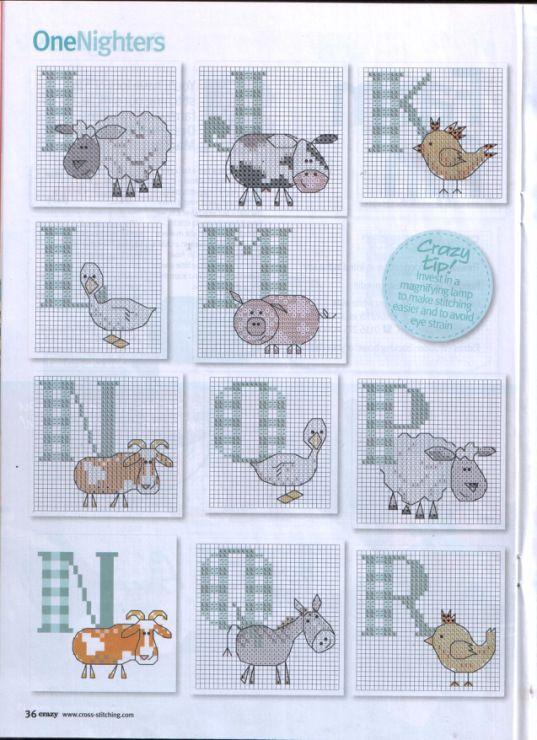 baby alfabet