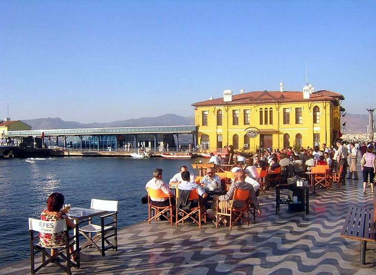 Izmir. Zafer and I ate breakfast here in March 2011. A lady walked by and told me I'd have his twins. Spooky.
