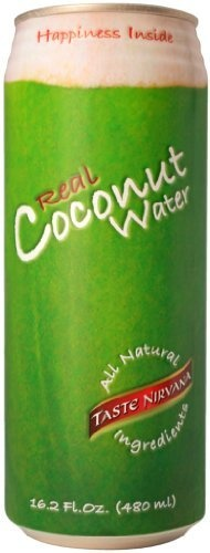 Taste Nirvana Real Coconut Water  16.2-Ounce (Pack of 12): http://www.amazon.com/Taste-Nirvana-Coconut-Water-16-2-Ounce/dp/B004OVWQDA/?tag=httpbetteraff-20