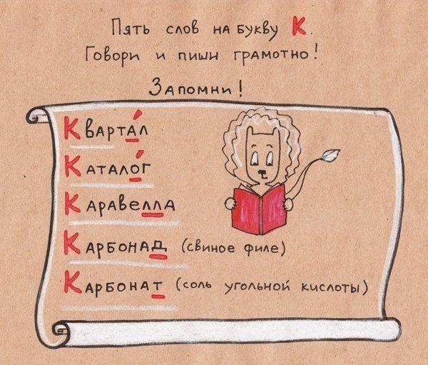 Gallery.ru / Фото #24 - Правила русского языка и математики в картинках - Vladikana