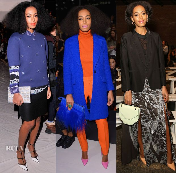 Solange Knowles Front Row @ New York Fashion Week