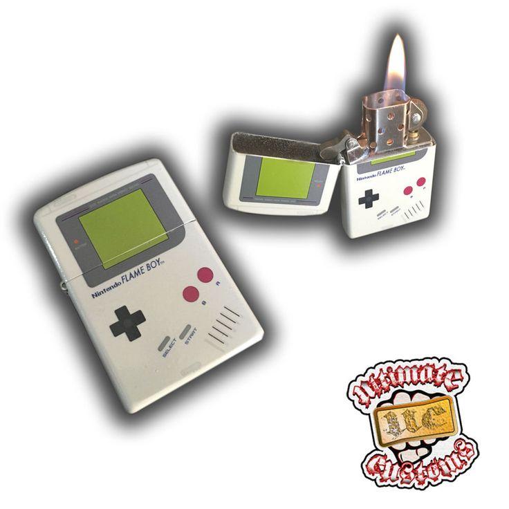 FlameBoy Custom Zippo Lighter Nintendo NES Gameboy Console Unit Game Mario Zelda | Video Games & Consoles, Video Game Consoles | eBay!