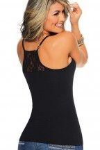 Blusa de tiras con blonda en espalda | CARMEL - Ropa por catálogo para mujeres y teens