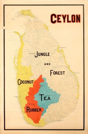 Best Map Images On Pinterest Old Maps Antique Maps And - Map of teas