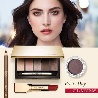 "Miss Cokette: Clarins Outono/Inverno 20115 - ""Pretty Day & Night..."