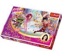 Trefl 30004 - Mia és én - 160 db-os Shine Color puzzle