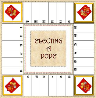 Here are some links that might be useful in teaching students about electing a pope:    fisheaters.com-  How Popes Are Elected   vatica...