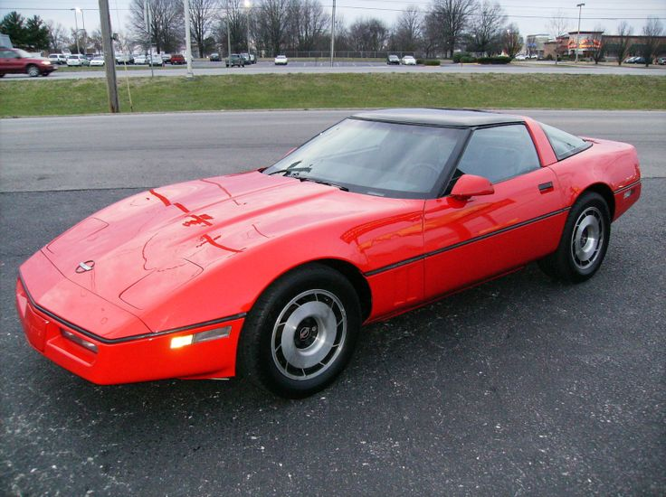1985 chevy corvette   1985 Chevrolet Corvette Coupe picture, exterior