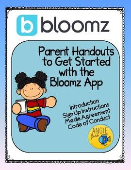 Bloomz is a new app that you can use to better communicate with the families in your class. I have been using it all year and I am in love with it! The two-way communication I now have with parents/guardians is incredibly valuable. I have received nothing but positive comments from families.