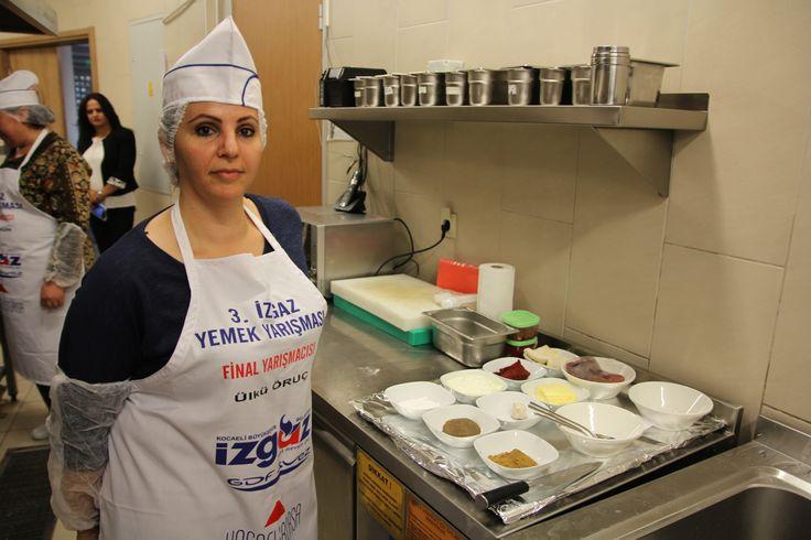2013 Yemek Yarışması Finalistimiz  Ülkü Oruç