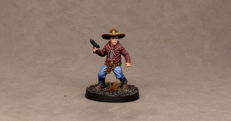 How to paint Mantic's Carl Grimes Walking Dead All Out War Tutorial from opponenttheory