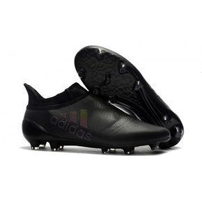 reputable site 9d970 aff29 Botas de fútbol de hombre Adidas X 17+ Purechaos FG Todo Negro Zapatos De  Futbol
