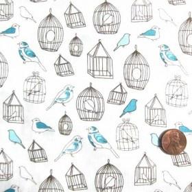 It Pays To Look Around Online Bird FabricPillow FabricCute