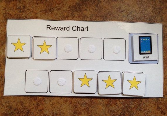 Behavior chart Reward chart autism visual aid behavior token positive reinforcement ABA behavior reinforcer chart special education teacher by learningsped. Explore more products on http://learningsped.etsy.com