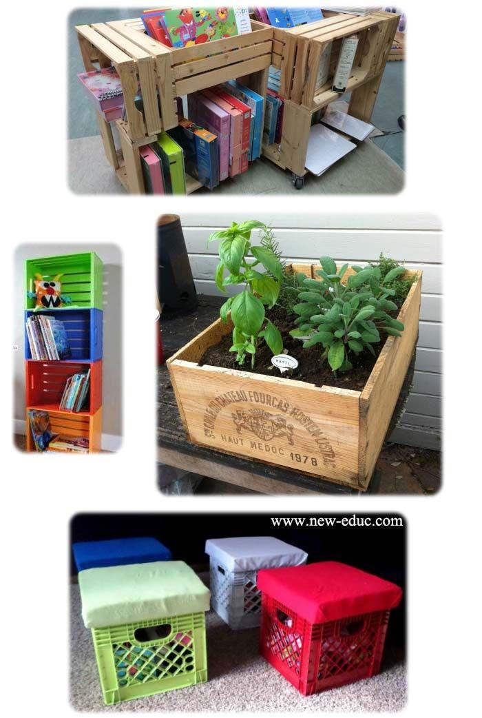 أفكار مبتكرة في إعادة التدوير داخل المدرسة Haut Medoc
