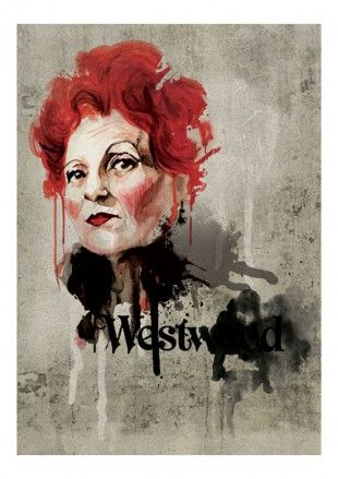 Folio - Illustration Agency | Mark Dickson - Portrait • People • Modern illustrator | Vivienne Westwood
