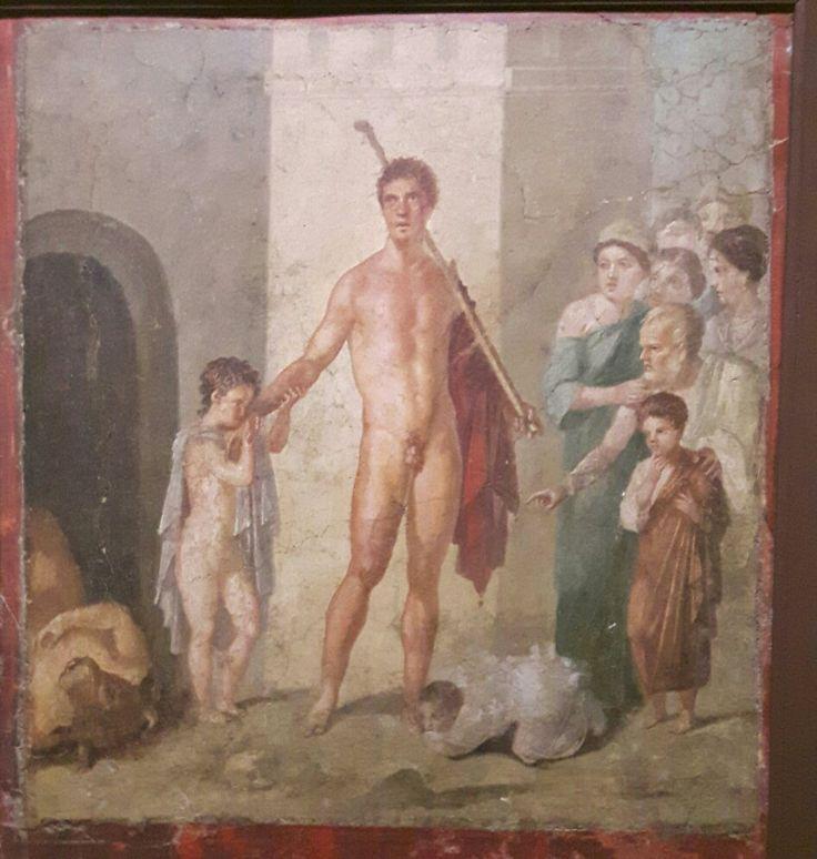 Teseo liberatore. I sec.a.C.  Museo Archeologico Nazionale di Napoli