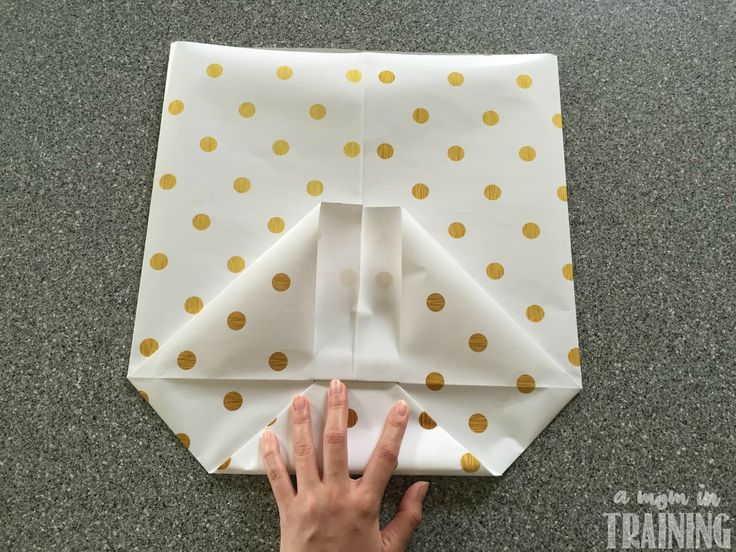 Diy Antique Wrapping Paper Using Craft Paper Or Paper Bags