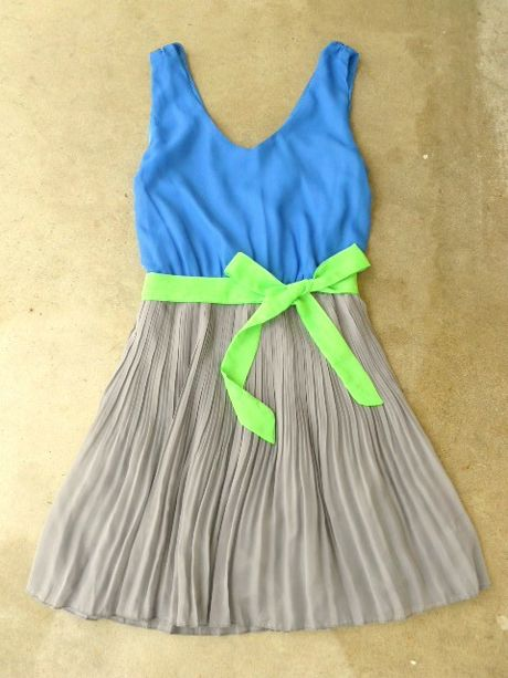 Clearwater Colorblock Dress. So cute!!love this