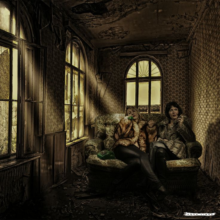 """""""Girls in abonded house"""" by Aqua Libra"""
