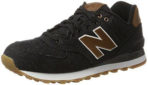 Oferta: 100€ Dto: -33%. Comprar Ofertas de New Balance 574 15 Ounce Canvas, Zapatillas para Hombre, Negro (Black), 42.5 EU barato. ¡Mira las ofertas!