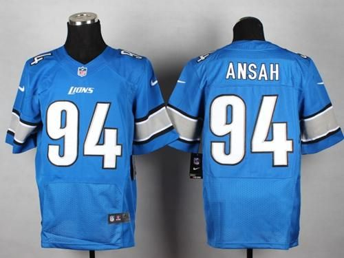 Ziggy Ansah Jersey Nike Lions 94 Ziggy Ansah Blue Team Color Mens Stitched  NFL Elite Jersey ... 730adb2c4