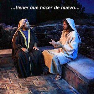 α JESUS NUESTRO SALVADOR Ω: El que no nazca de agua y de Espíritu no puede ent...