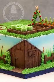 Image result for gardening birthday cake for men