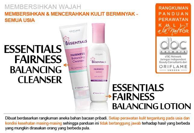 Essentials Fairness Balancing Cleanser | Essentials Fairness Balancing Lotion  | #pembersih #wajah #mencerahkan #kulit #berminyak #semuausia #tipsdBCN #Oriflame