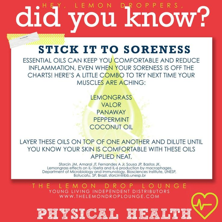 Young Living Essential Oils: Pain and Soreness